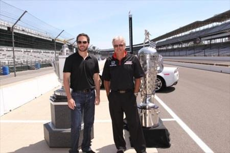 Johnson Hopes To Join Idol Mears As Four-Time Winner At IMS