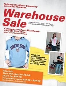 Great Deals Available On Merchandise Nov. 12-13 At IMS Warehouse Sale
