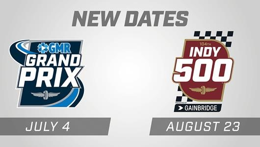 GMR Grand Prix and Indianapolis 500 Logos
