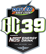 Driven2SaveLives BC39 powered by NOS Energy Drink