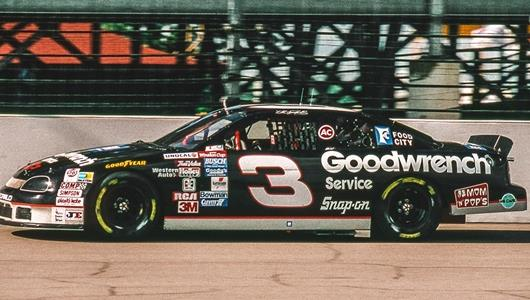 Dale Earnhardt at the brickyard 400 in 1994