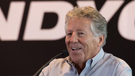 Mario Andretti Press Conference