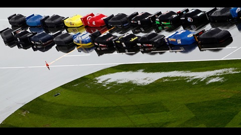 Rain May Clear Out Late At Daytona