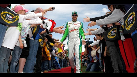 Earnhardt Jr. Popping In Points