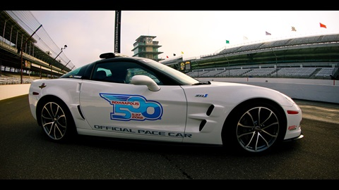 2013 Chevrolet Corvette ZR1 To Pace 96TH Indianapolis 500