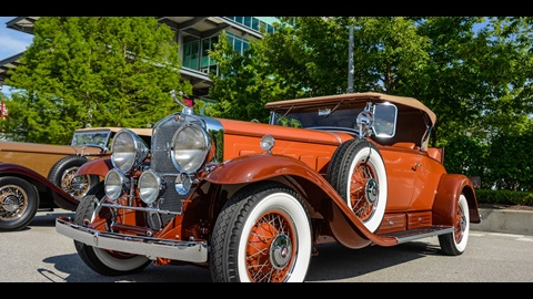 Vintage car owners enjoy Celebration of Automobiles at IMS