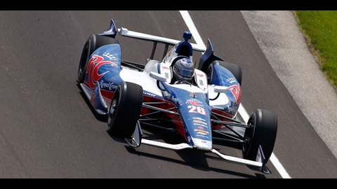 Andretti Tops 223 MPH as Indianapolis 500 Practice Continues