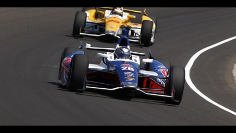 Andretti, Strong Heading Into Pole Day