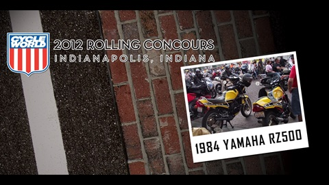 Cycle World Rolling Councours Feature: 1984 Yamaha RZ500