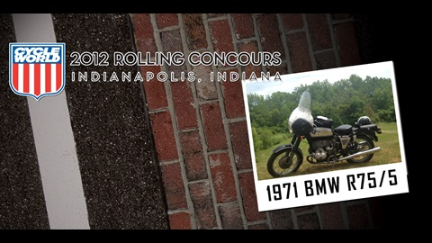 Cycle World Rolling Concours Entries: 1971 BMW R75/5