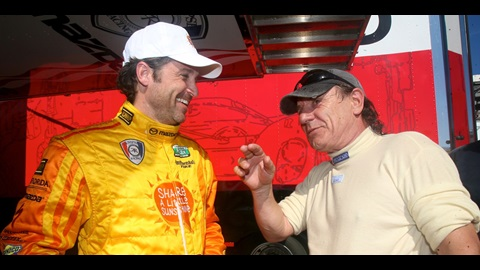 Actor Dempsey Steps Into Driving Spotlight In GRAND-AM Race At IMS