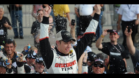 Keselowski Wins Inaugural Indiana 250 At IMS