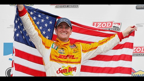 Hunter-Reay's Successful Gamble In Baltimore Creates Title Drama