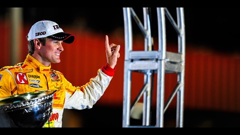 Dream Season Comes To Intense Conclusion For Champion Hunter-Reay