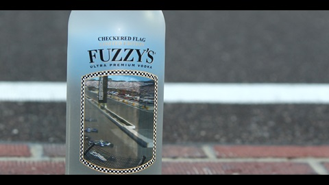 Fuzzy's Ultra Premium Vodka Celebrates Indy 500 With Checkered Flag Bottle