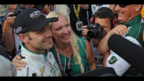 Carpenter Puts 'Little Guy' In Spotlight With Stunning Indy 500 Pole Run