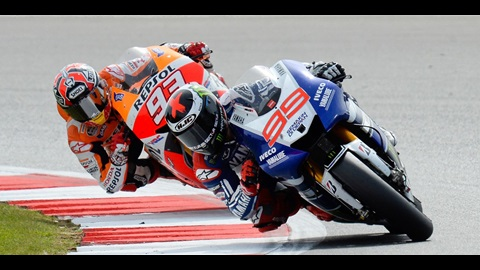 Marquez vs Lorenzo - The Showdown