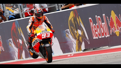 Marquez Untouchable at Austin For Second Successive Win