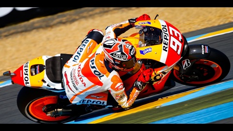 Marquez Makes it Five in a Row