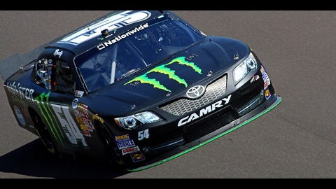 Kyle Busch Wins Lilly Diabetes 250 Pole