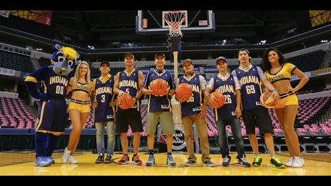 MotoGP Take Their Shots at Banker Life Fieldhouse