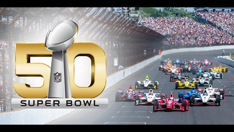 Indy 500 Superbowl Commerical
