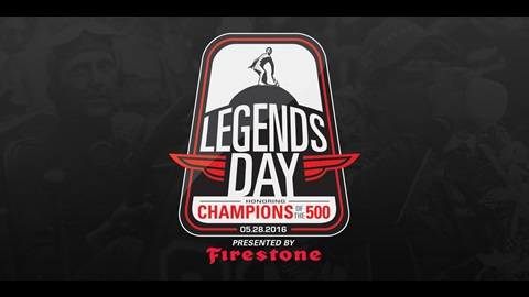 Legends Day honoring the Champions of the 500