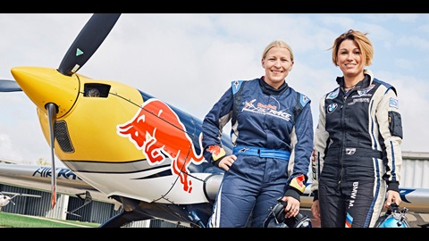 Pippa Mann and Melanie Astles