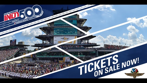 Indy 500 Tickets On Sale Now