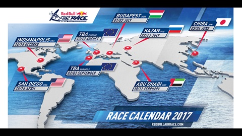 Red Bull Air Race Calendar