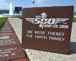 100th Running of the Indianapolis 500 Commemorative Brick
