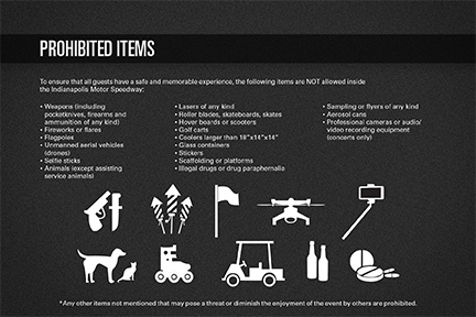 Prohibited Items