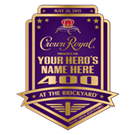 Crown Royal presents the Your Hero's Name Here 400 at the Brickyard