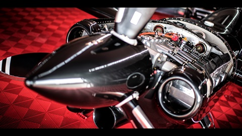 Red Bull Air Race Engine